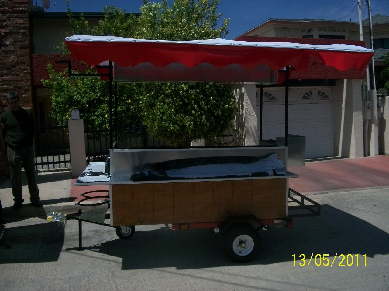 carretas para comida. Oliver Food Truck