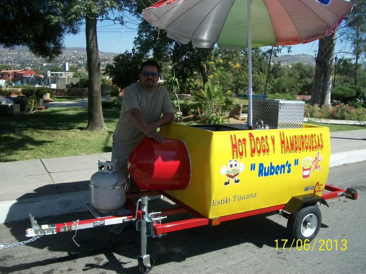 Oliver Food Truck. Carretas para Comida. Hot Dogs y Hamburguesas. llamanos