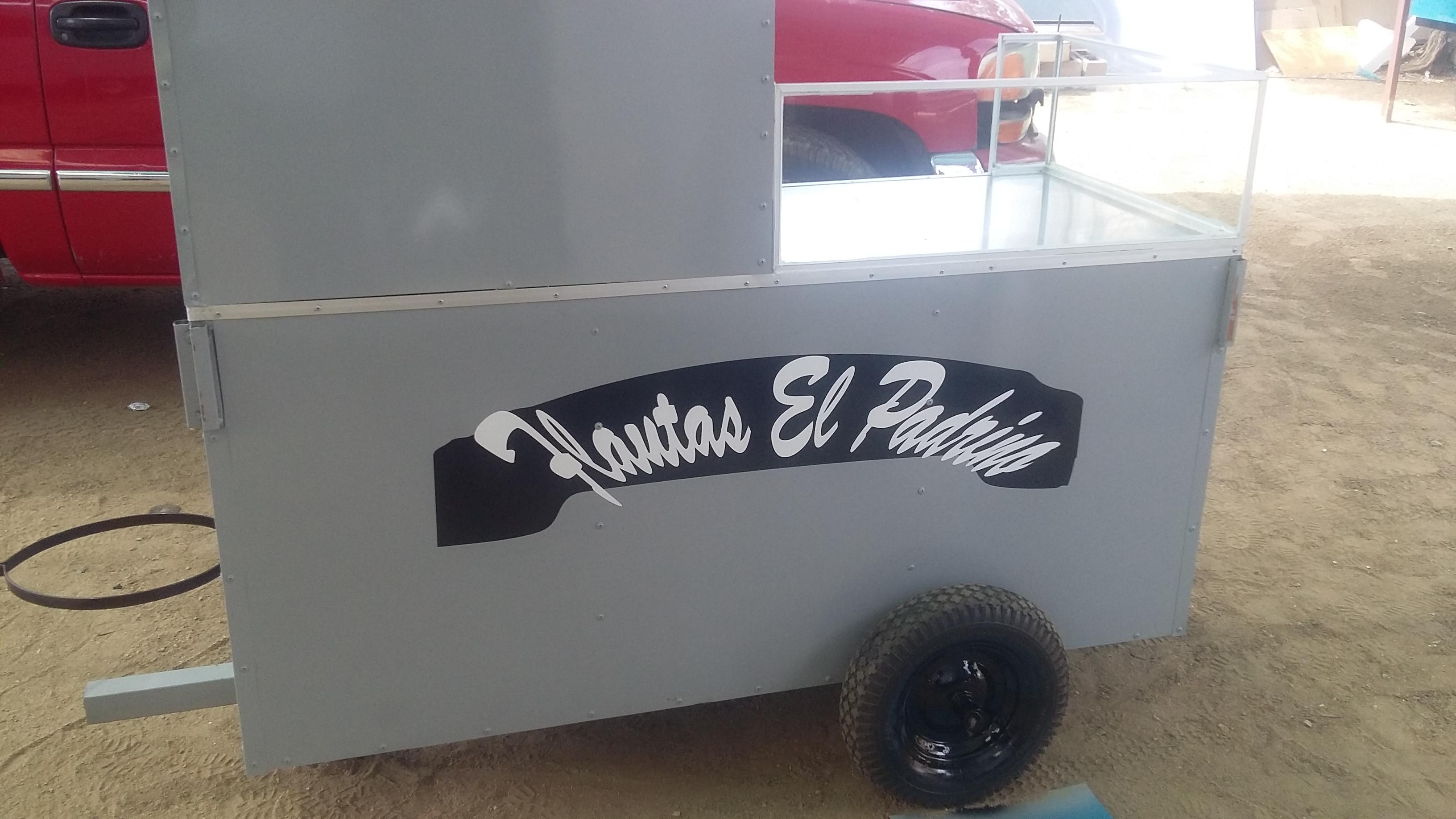 Venta de Flautas estilo México. venta de carretas. Oliver Food Truck