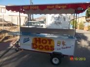 carreta de hot dogs