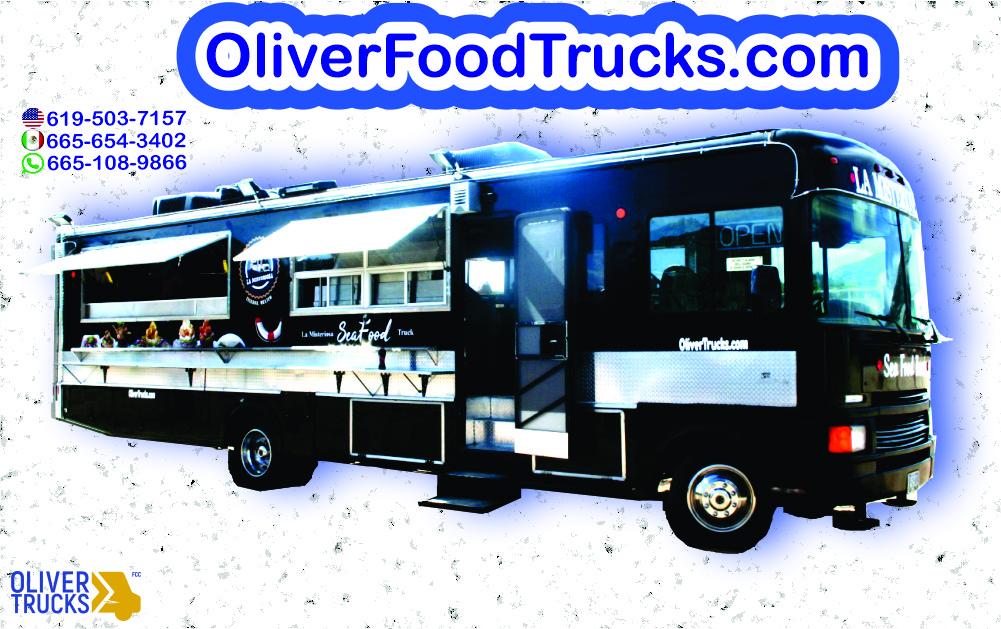 Oliver Food Truck. Carretas para Comida. Food Trucks